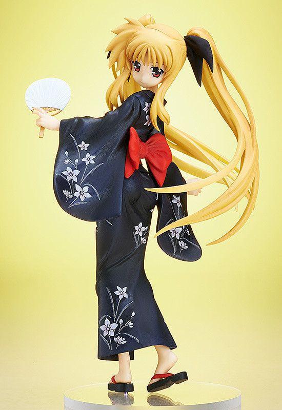 Max Factory figma 062 Magical Girl Lyrical Nanoha A/'s Fate Testarossa School ver