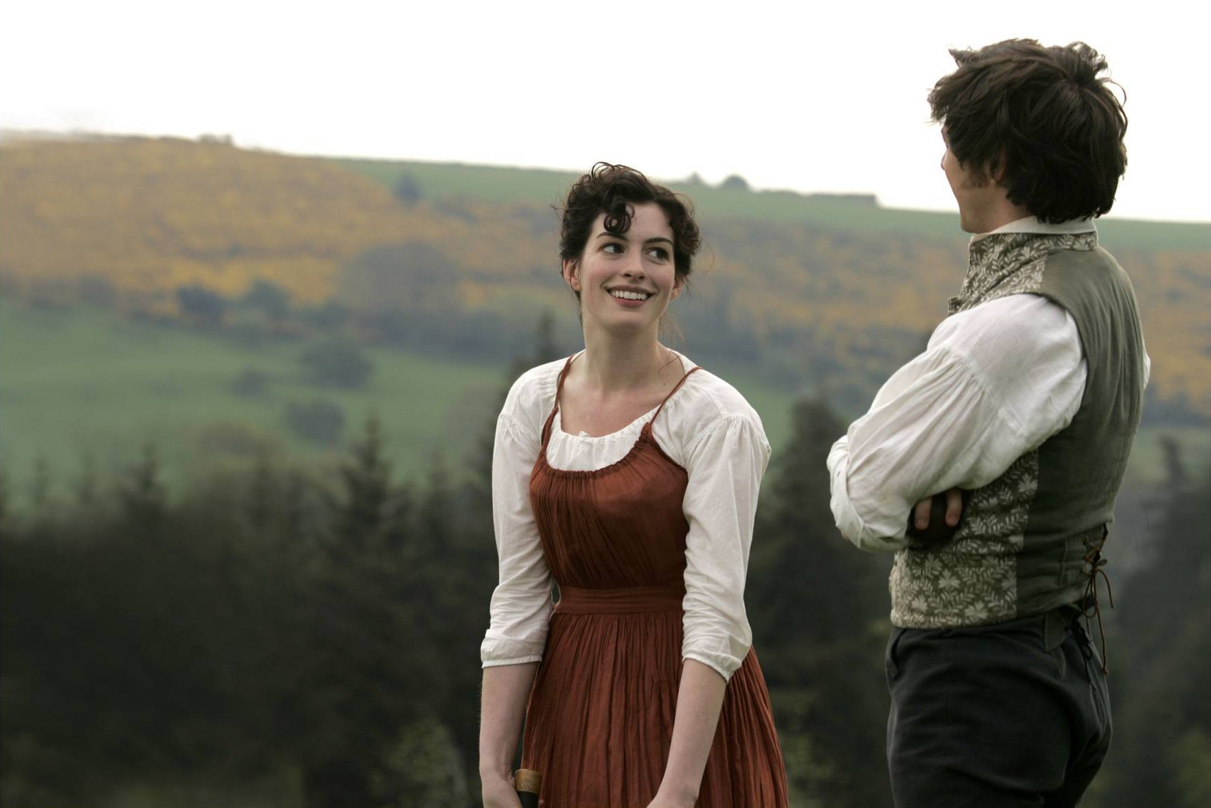 Anne Hathaway & James Mcavoy (Becoming Jane)   Enchanted ...