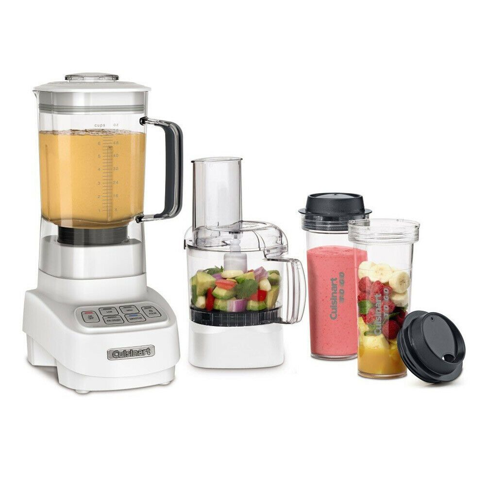 Cuisinart Bfp 650 Velocity 1 Hp 2in 1 Blender And Food Processor White Food Processor Recipes Best Food Processor Cuisinart Food Processor