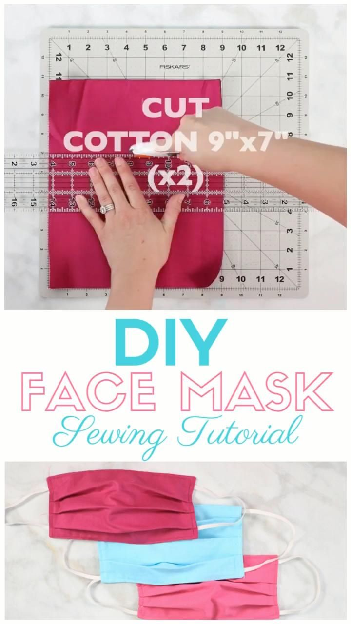 Photo of How to Sew a Surgical Face Mask | Sweet Red Poppy