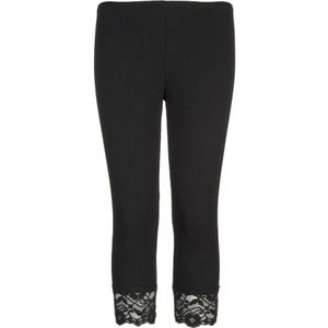 Lace-bottom black leggings (which had to be worn with white lace ...