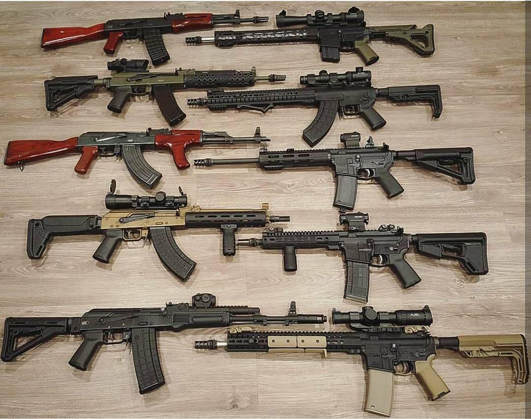 AKs and ARs - By : @brothersfirearmshop - #gun #rifle #shotgun #handgun #pistol#firearms #molonlabe #Usa #gunlife #gunporn #war #shooting #military #america #tactical#1776 #1776united #pewpewpew #edc