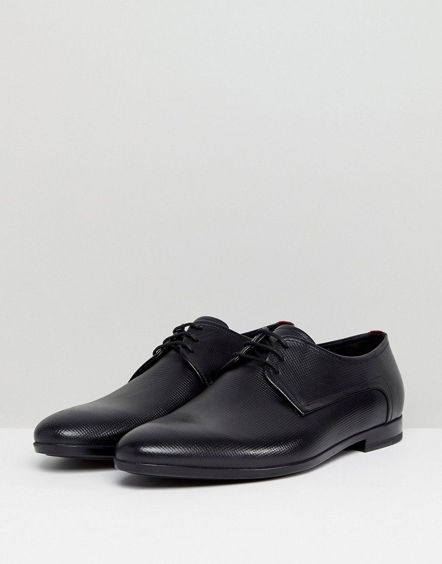 BOSS Hugo BossPariss Leather Lace-Up Derby by HUGO 3AhS5OOa4P