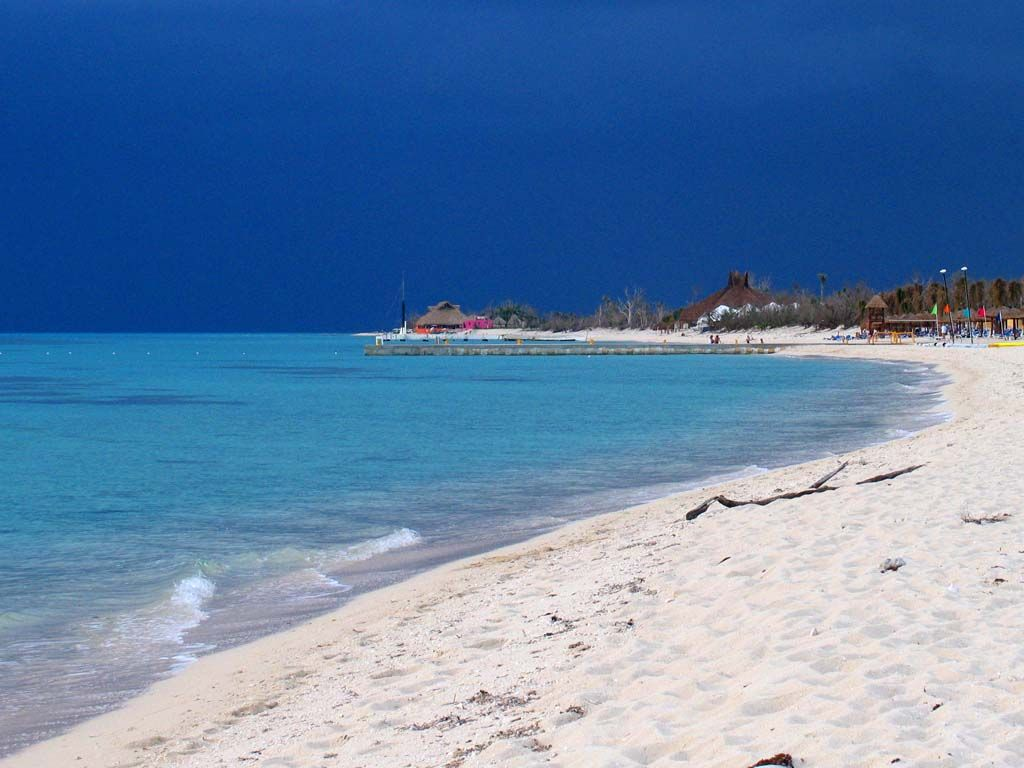 Yes, I do believe a day at the beach it will be in Cozumel, Mexico