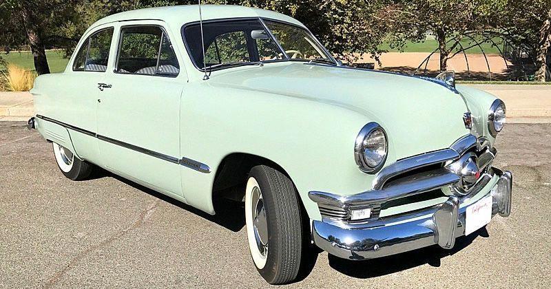 1950 Ford Custom Deluxe Tudor Fordclassiccars Classic Cars Ford Classic Cars American Classic Cars