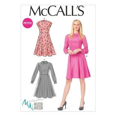 McCalls M6989 Miss Petite Dresses   Spotlight Australia   Patterns ...