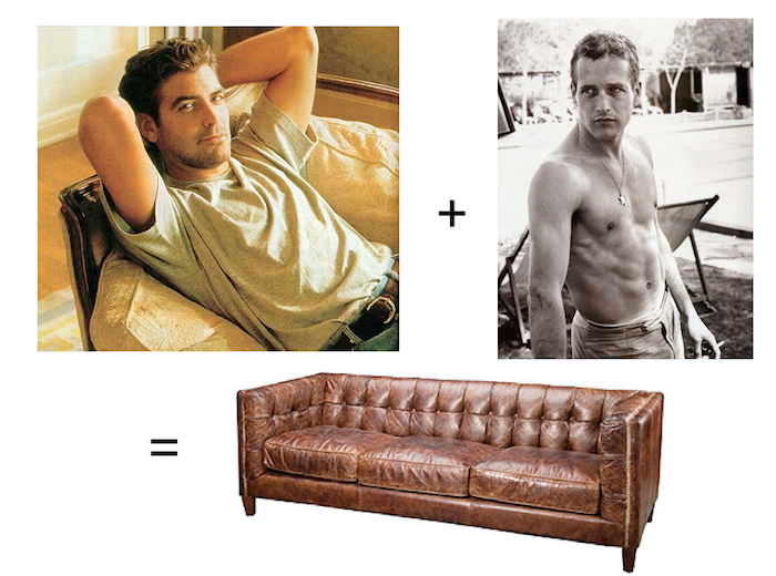 How to find the perfect leather sofa. Heck to the YES! Thanks @Emily Henderson for this spot on post.