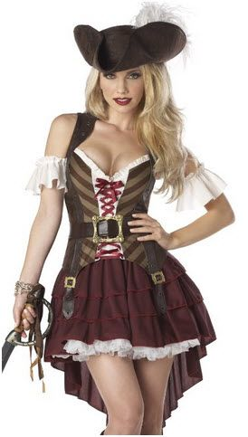 Being a Lady Pirate for Halloween just got sexier and this outfit will compliment your personality! Our costumes are great, affordable, fast shipping and creative! http://www.worldofadultcostumes.com #halloween costume adult #bestsexycostume #adulthalloweencostumes #holidayparty