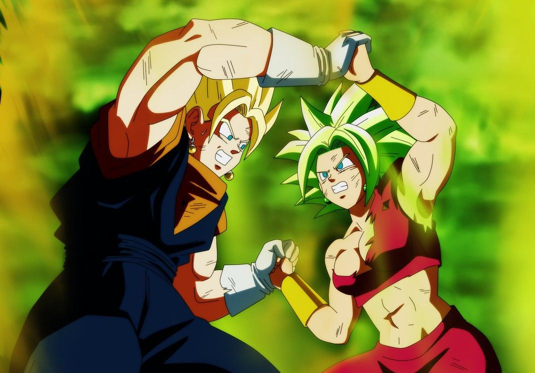Vegito Vs Kefla By Salvamakoto Anime Dragon Ball Super Dragon Ball Art Anime Dragon Ball