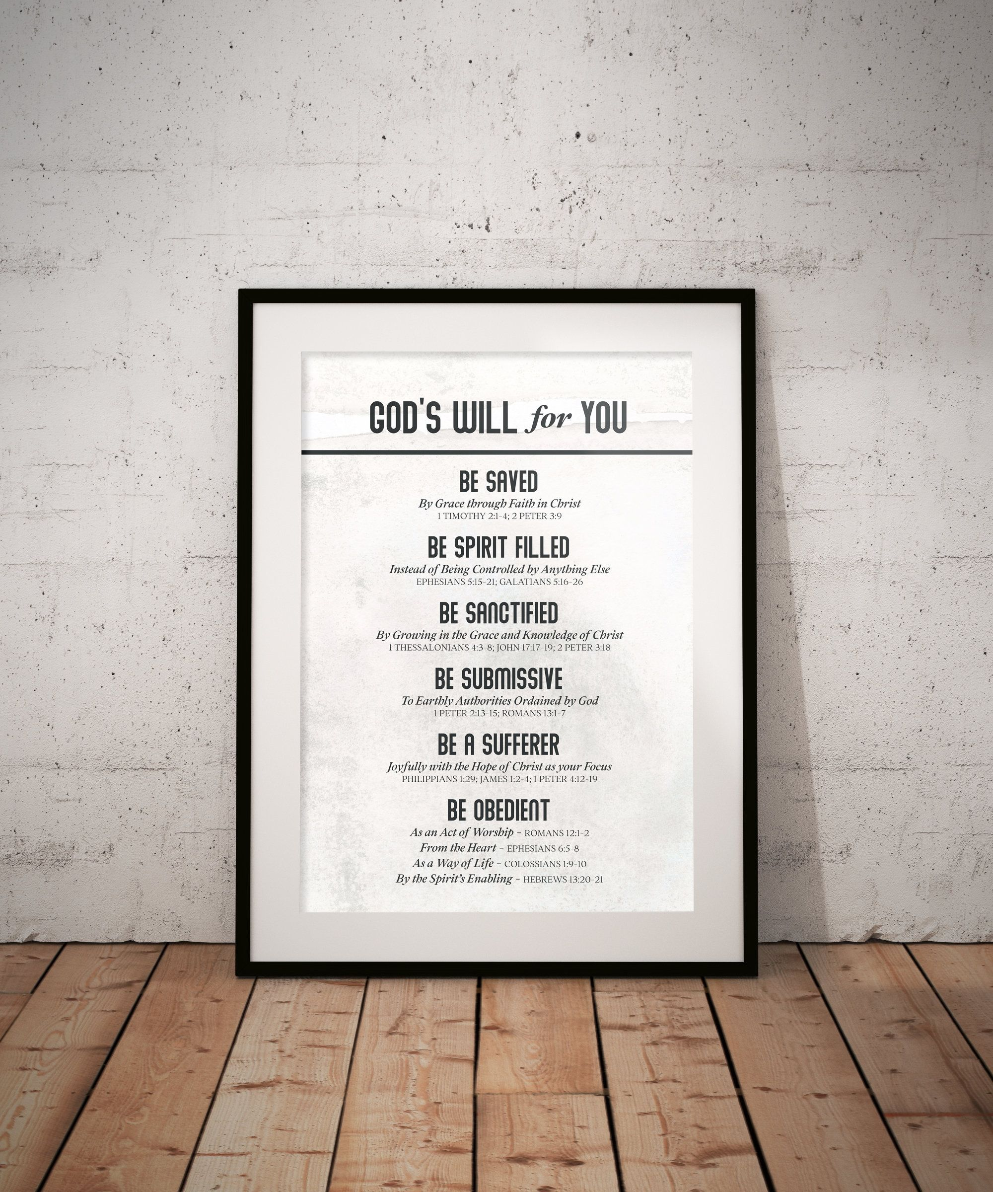 God S Will Printable Scripture Artwork Bible Verse Art Etsy Roman 3 The Living Paraphrase