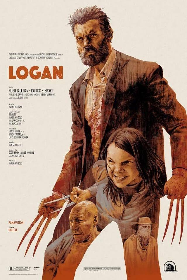 Logan 2017 Movie Posters Design Logan Movies Marvel Movie Posters
