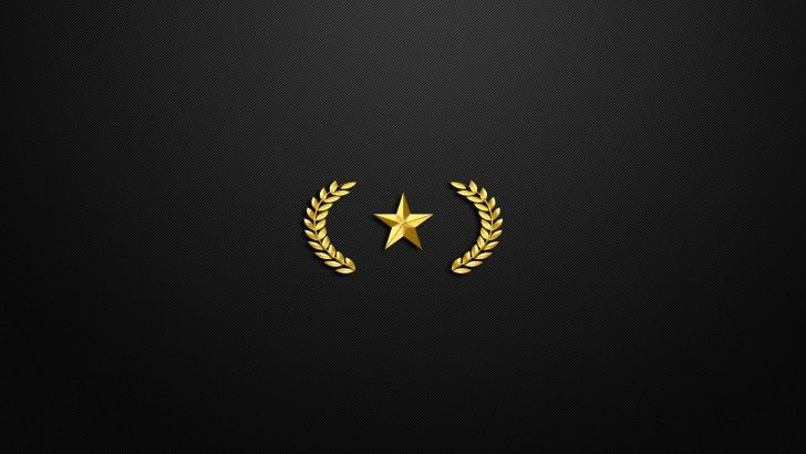 Download CSGO Gold Nova I Rank Logo 1920x1080