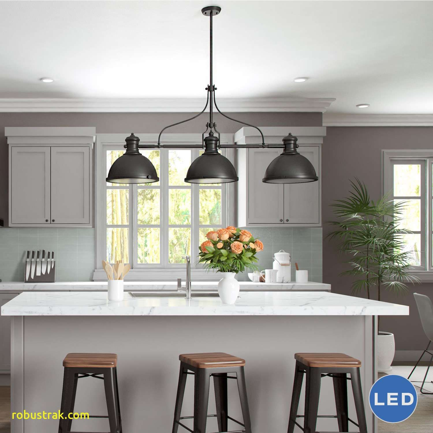 Pendant Lights Houzz Kitchen Island