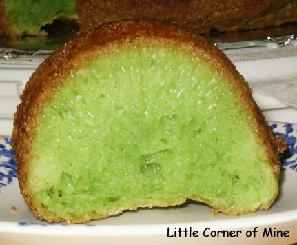 Vietnamese Honeycomb Cake Smells Like Coconut And Green From The Pandan Paste This Was