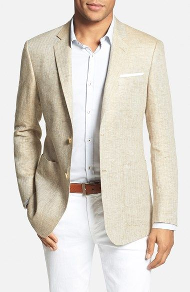 Todd Snyder White Label Trim Fit Linen Blazer available at #Nordstrom