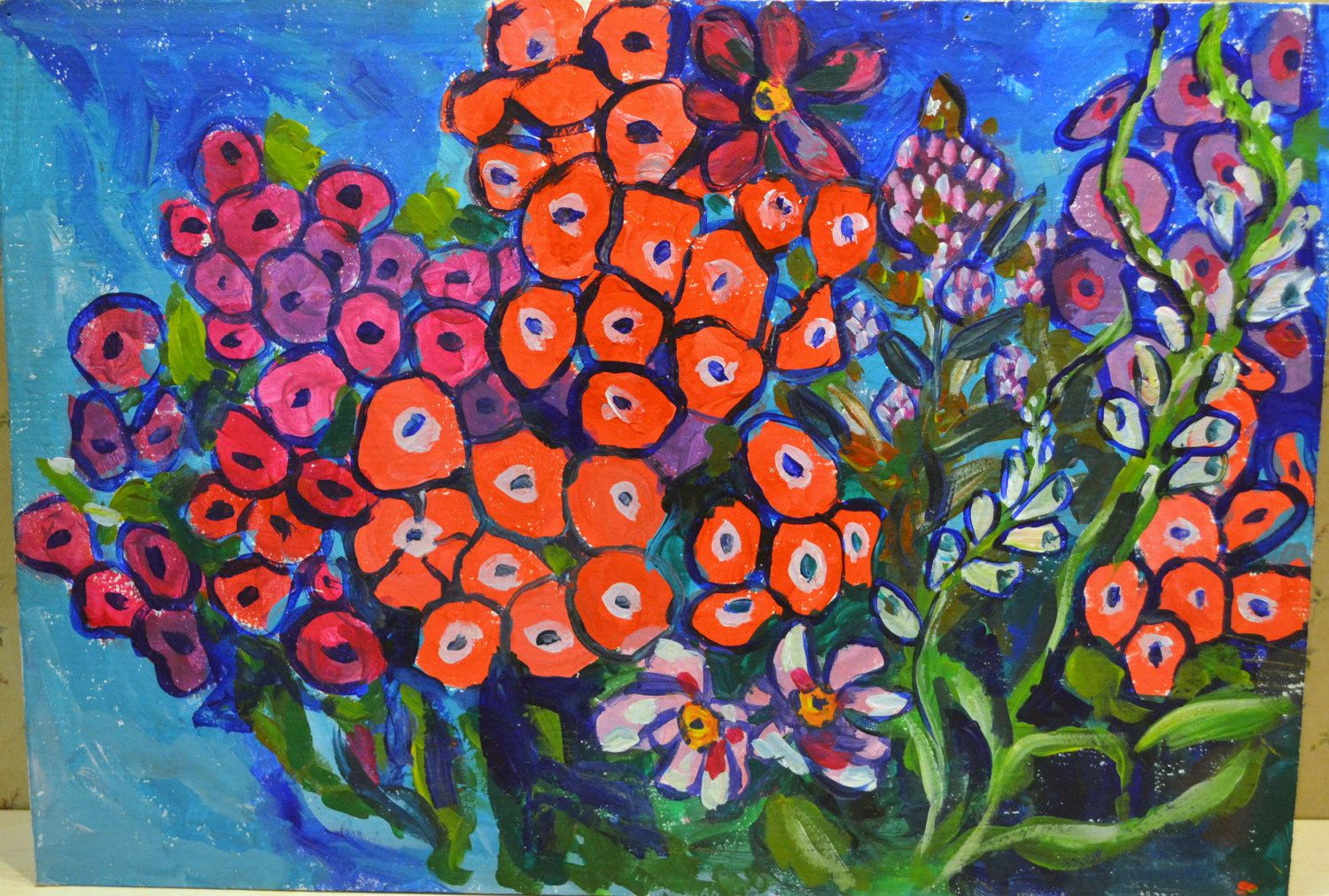 Flowers Pink Summer Pink Flowers Summer Flowers Painting