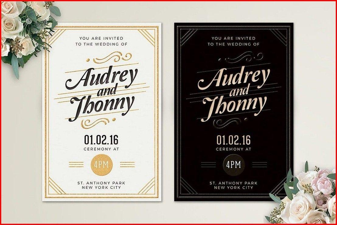 20 fantastic wedding ceremony invitation  card design