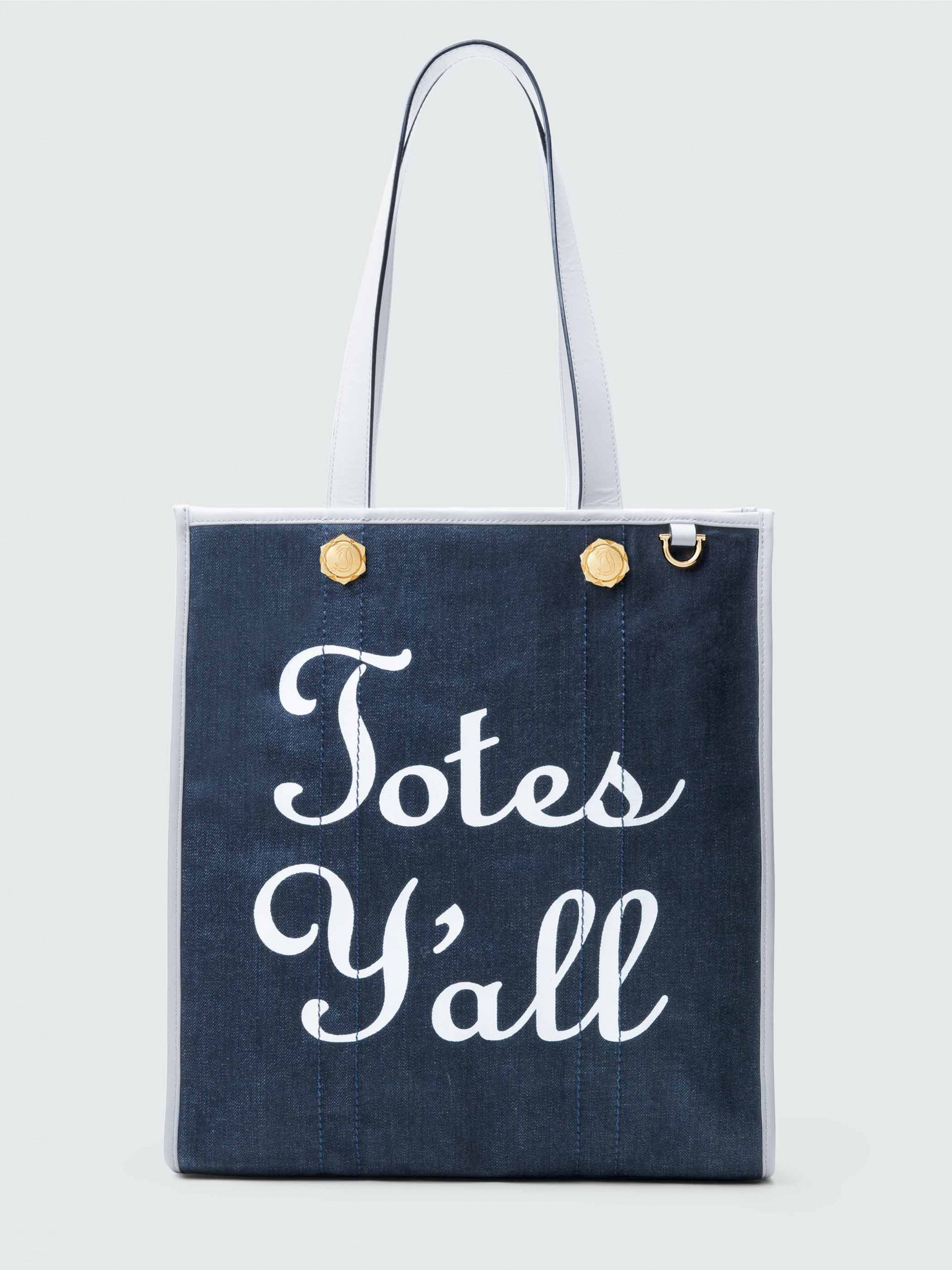Our Most Popular Tote Now In Denim It Ll Take You From The