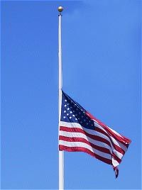 When To Fly The Flag At Half Staff Mast Elementary Schools Prayers American Flag