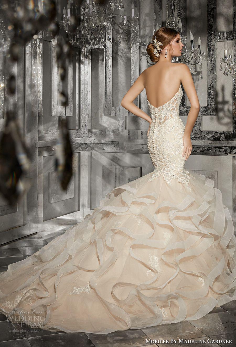 Blush mermaid wedding dress  Morilee by Madeline Gardner Fall  Wedding Dresses  At the Altar