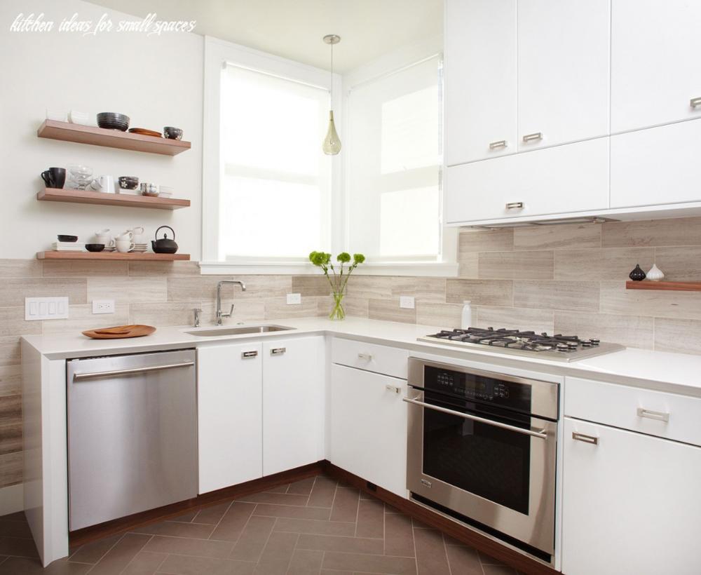 Small Space Kitchen Ideas Kitchen Magazine Desain Dapur Kecil Kabinet Dapur Dapur Minimalis