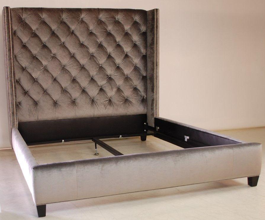 Luxurious Upholstered Headboard | Respaldos | Pinterest ...