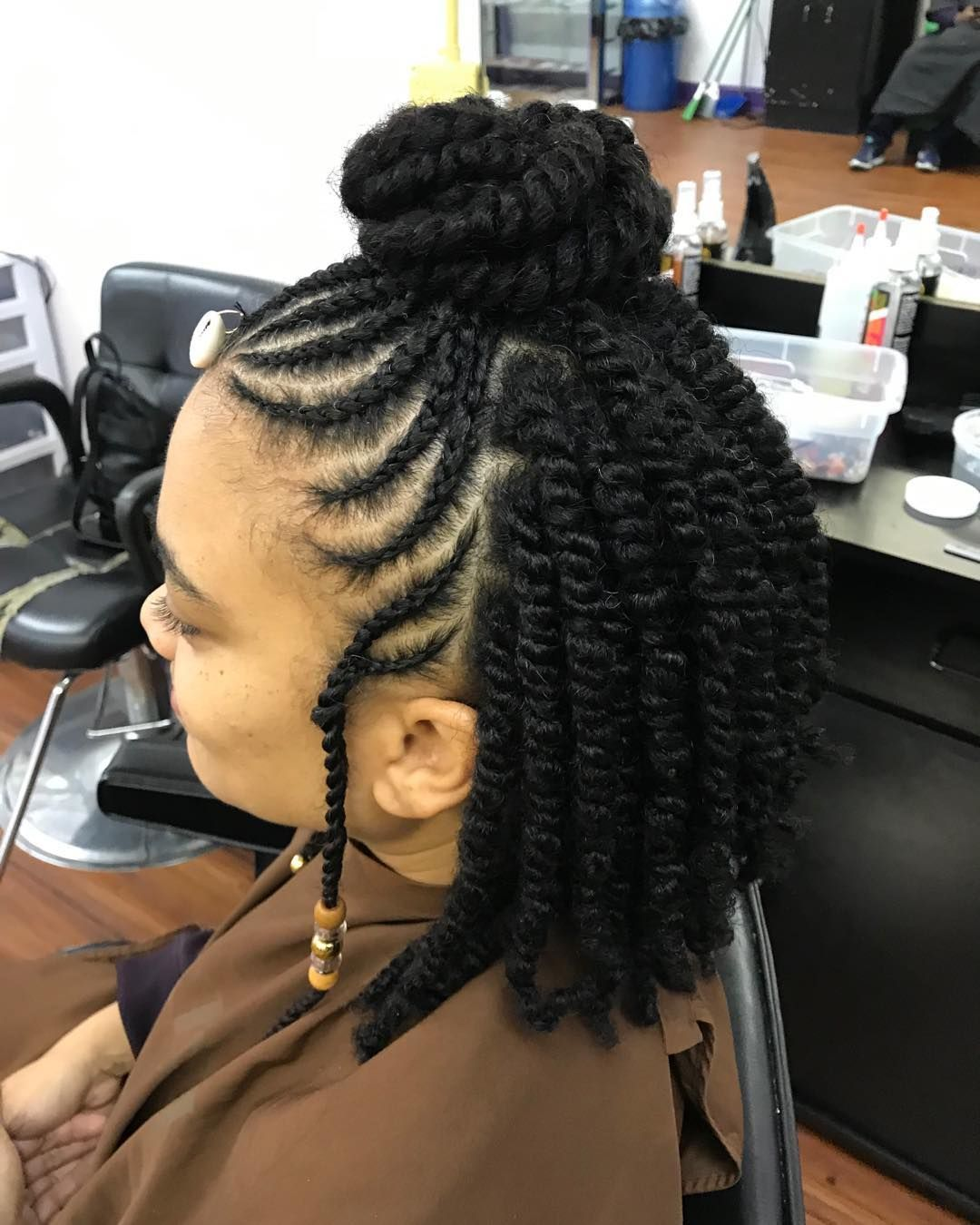 Pin By Salon Pk On Salon Pk Natural Hair Salon Short Natural Hair Styles Natural Hair Styles Black Women Hairstyles