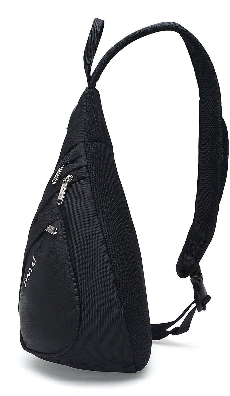 Mens Sling Bag Cross Body Handbag Chest Bag Shoulder Sports Travel Backpack NEW