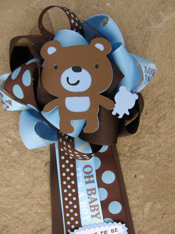 Teddybearbabyshowerbearbybonbowonetsy1899 Baby Shower