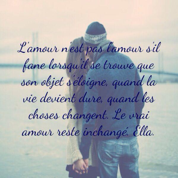 Citation Citation Le Vrai Amour Amour