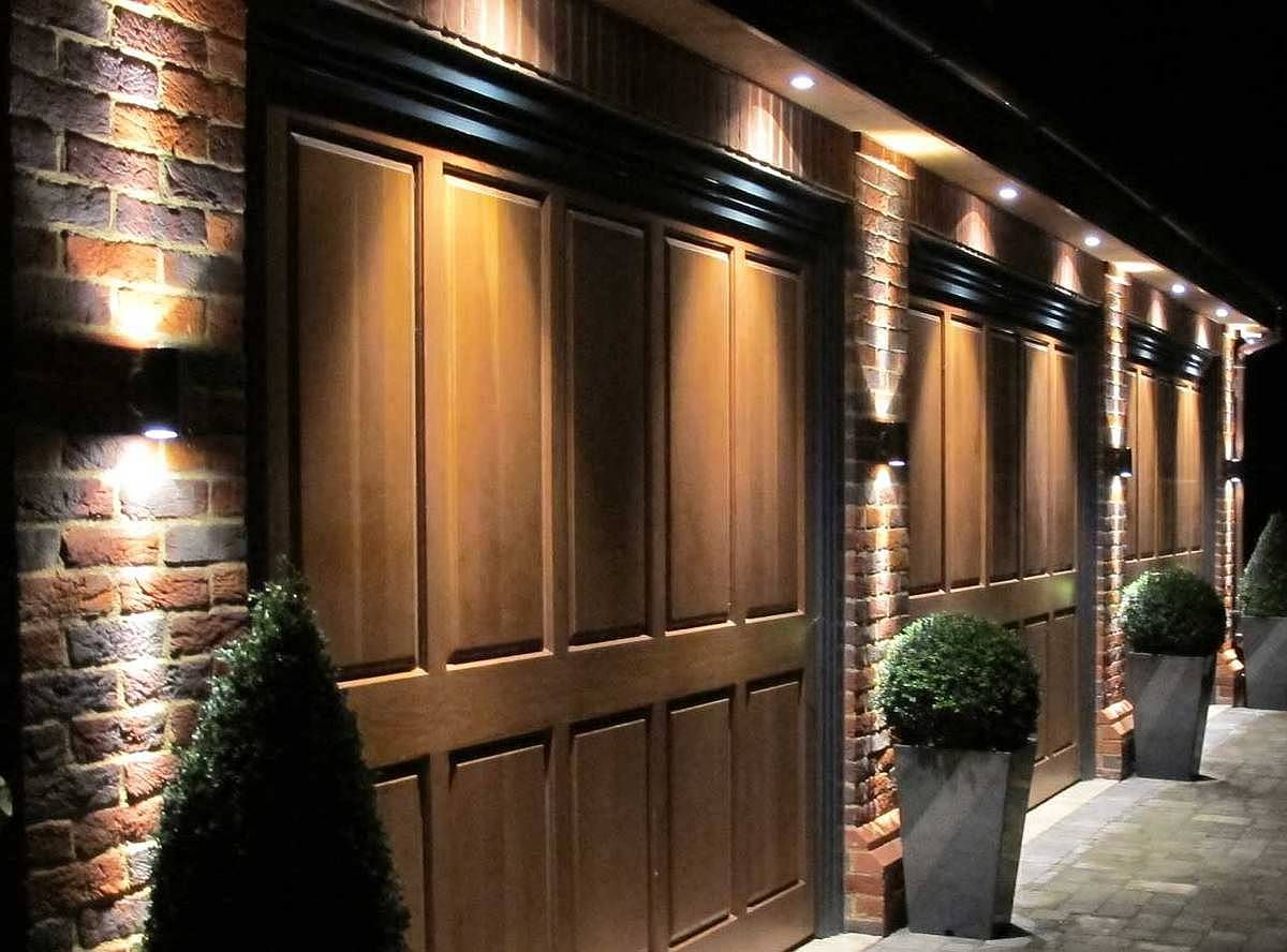 50 Outdoor Garage Lighting Ideas – Exterior Illumination Designs