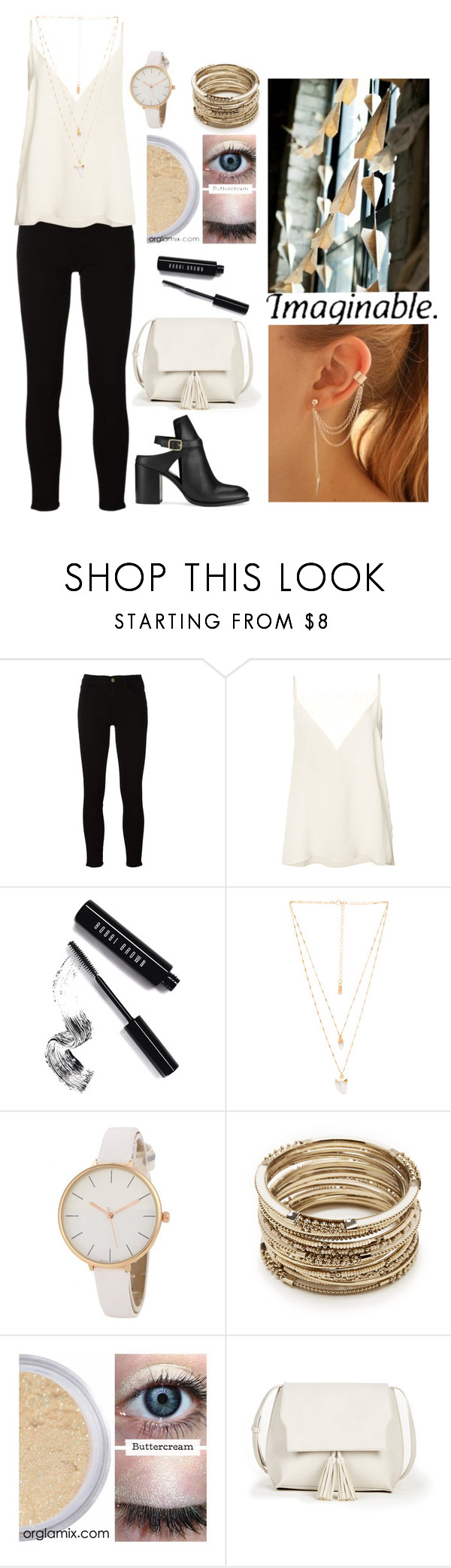 """""""It was about 8 years ago, don't act like you don't know"""" by marcykxx ❤ liked on Polyvore featuring Frame, Anine Bing, Bobbi Brown Cosmetics, Natalie B, Sole Society and Miss Selfridge"""