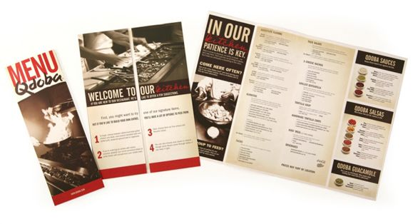 Sample Restaurant Brochure Wagga Bowl Diner Menu By Allie Baird Via