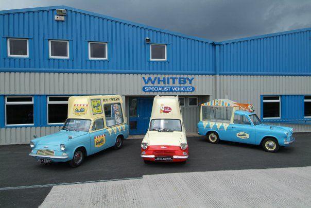 Ice Cream Van By Whitby Morrison