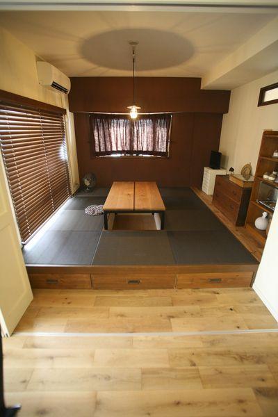小上がり和室のメリット デメリットや最適な広さ 段差の高さは 後付け