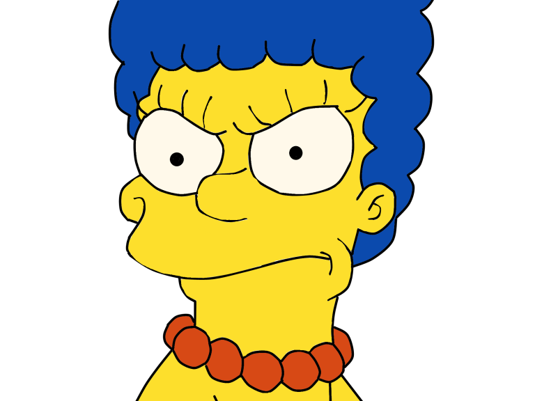 Marge Annoyed Marge Simpson Funny Gif Simpson