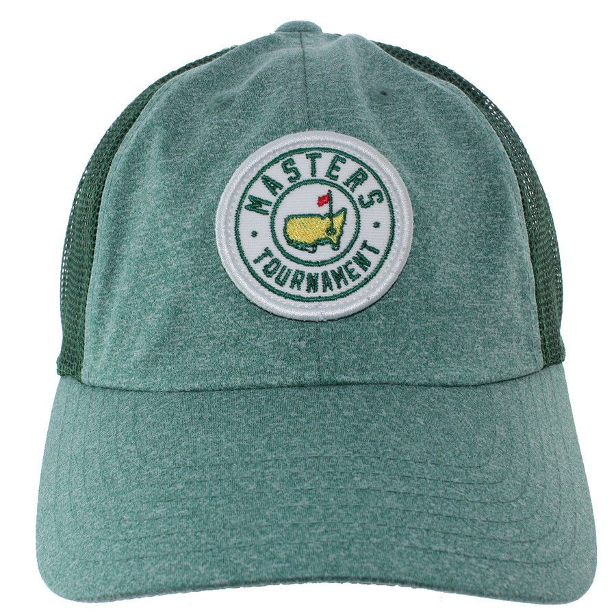 191de8308eb 2018 MASTERS Golf Tournament Evergreen Trucker Style Hat Cap AUGUSTA  NATIONAL (eBay Link)