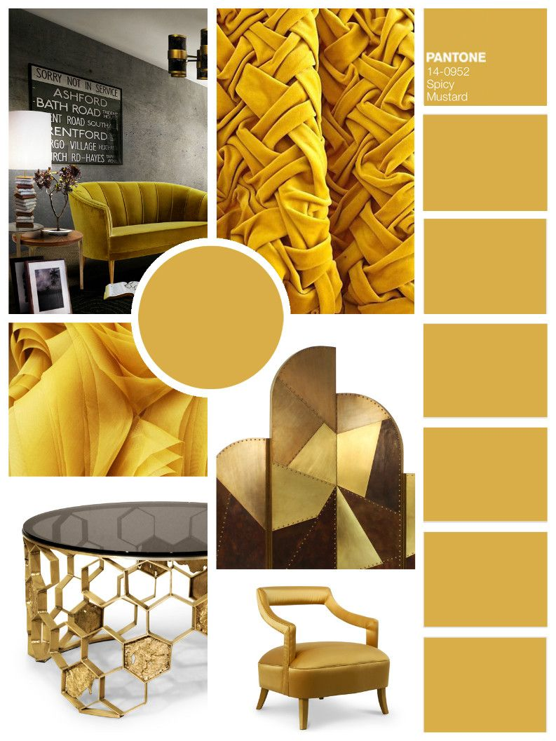 Color Trends For Next Season: Inspiring Mood Boards by BRABBU | Mood ...