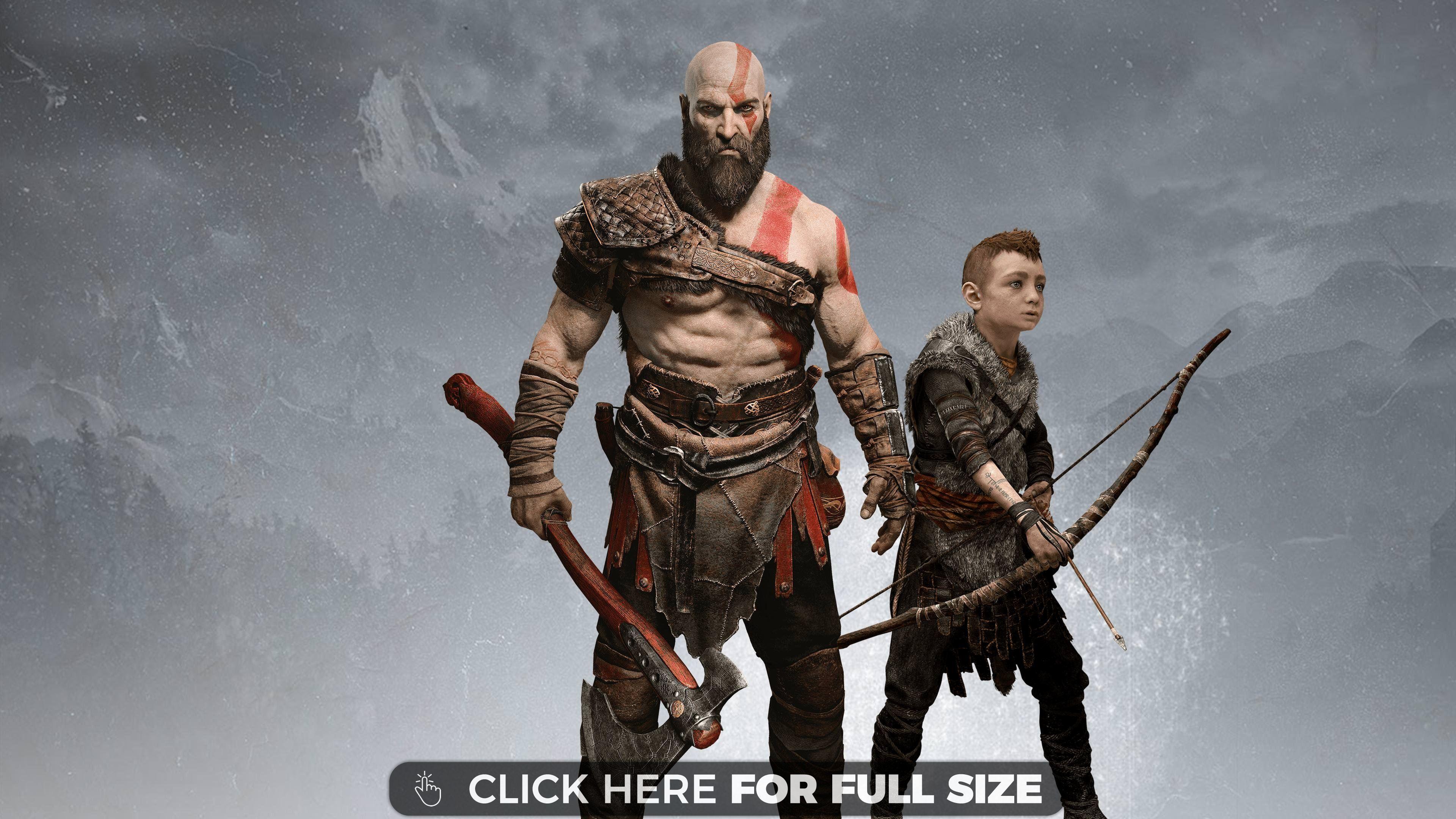 God Of War Ps4 Wallpaper High Definition God Of War Wallpaper 4k Wallpapers For Pc Kratos Wallpaper