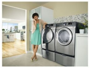 Samsung Washer Dryer Wf210anw Nebraska Furniture Mart Samsung Washer Furniture