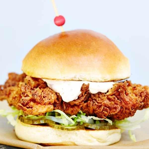 Butchies Buttermilk Chicken Sandwich Recipe Chicken Burgers Recipe Chicken Burgers Buttermilk Chicken