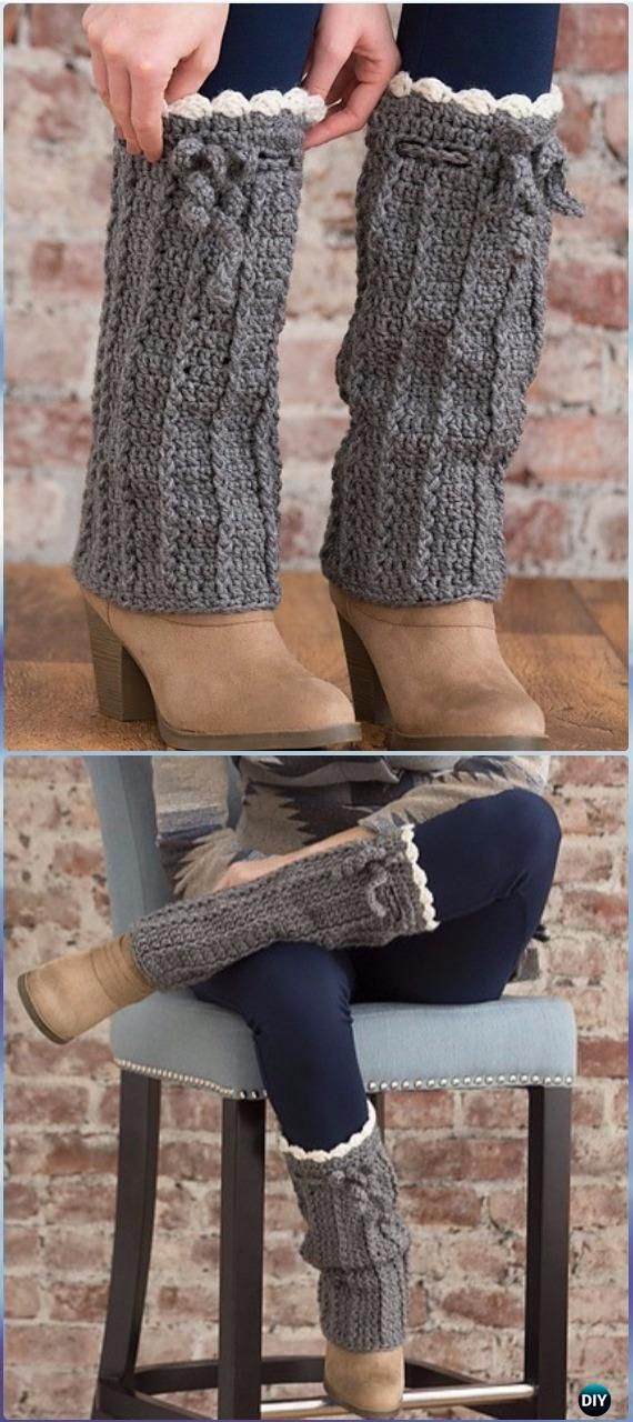 Crochet Long Boot Warmers Free Pattern - Crochet Boot Cuffs Free ...