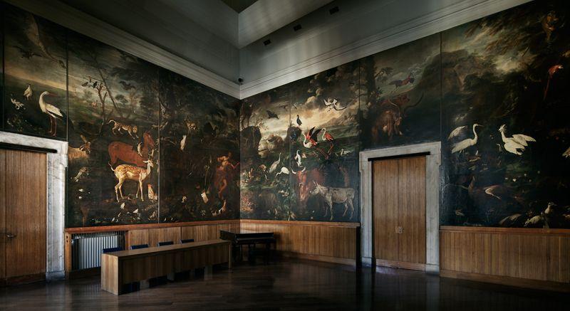 Sala del Grechetto, Biblioteca Sormani.