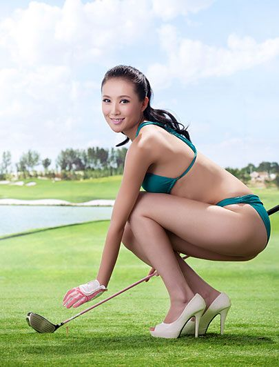bikini golf golf babes pinterest murcia golf and