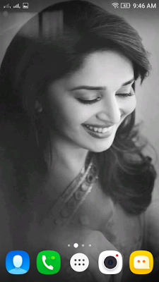 Madhuri Dixit 3d Live Wallpaper For Android Mobile Phone Beautiful