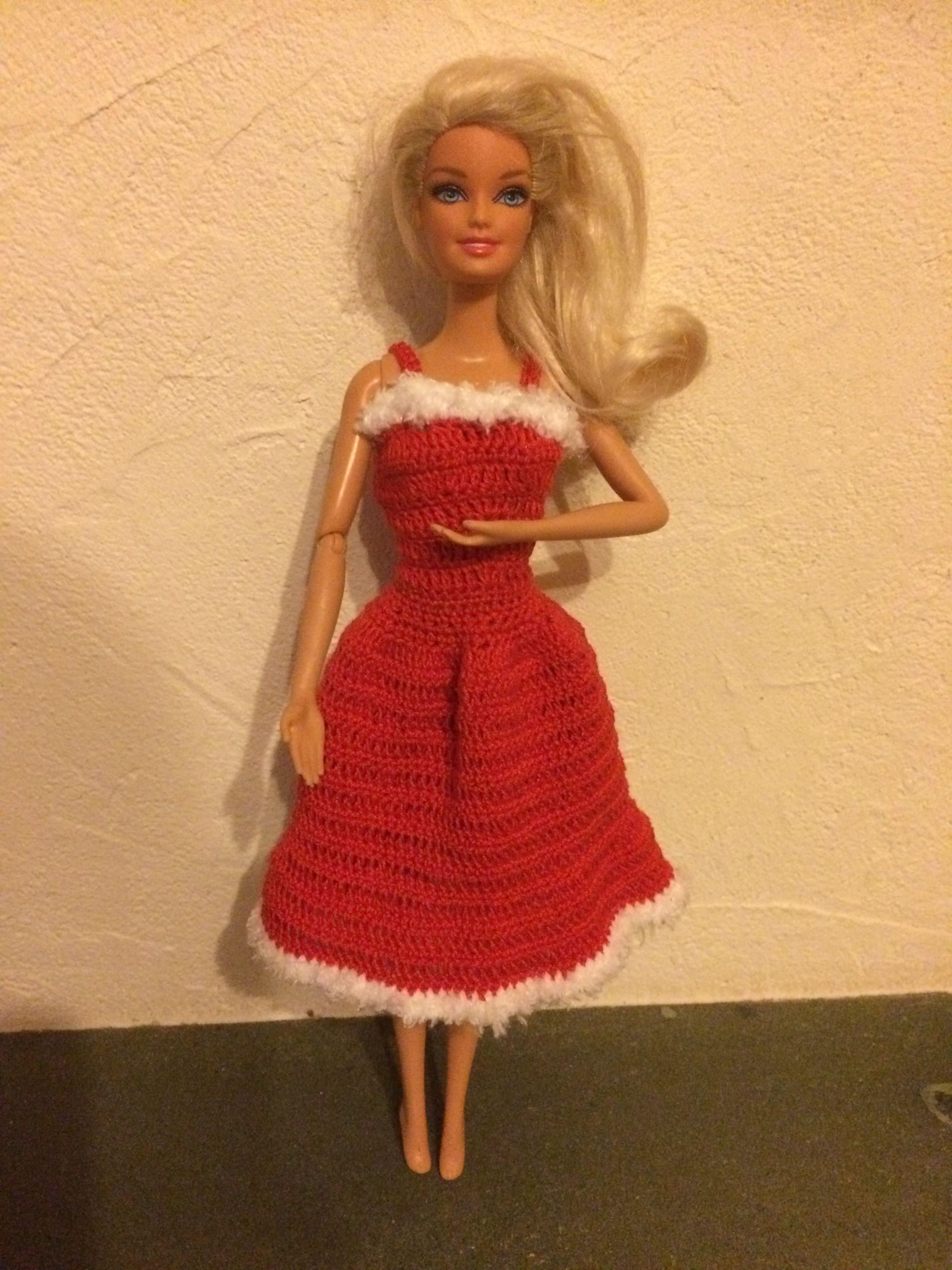 Fine Barbie Crochet Patterns Festooning - Sewing Pattern for Wedding ...