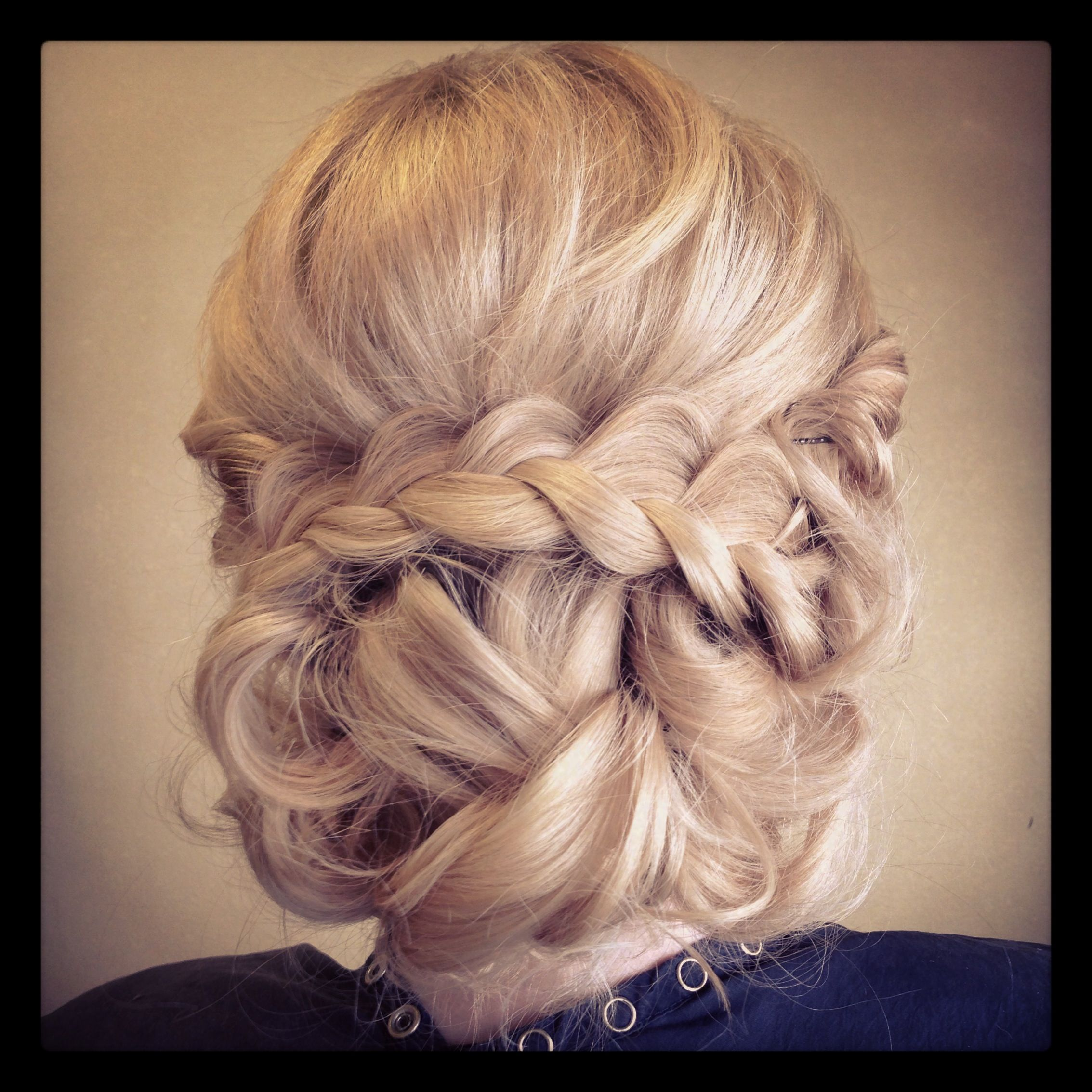 Wedding Hairstyle With Braids: Bridal Braid Updo