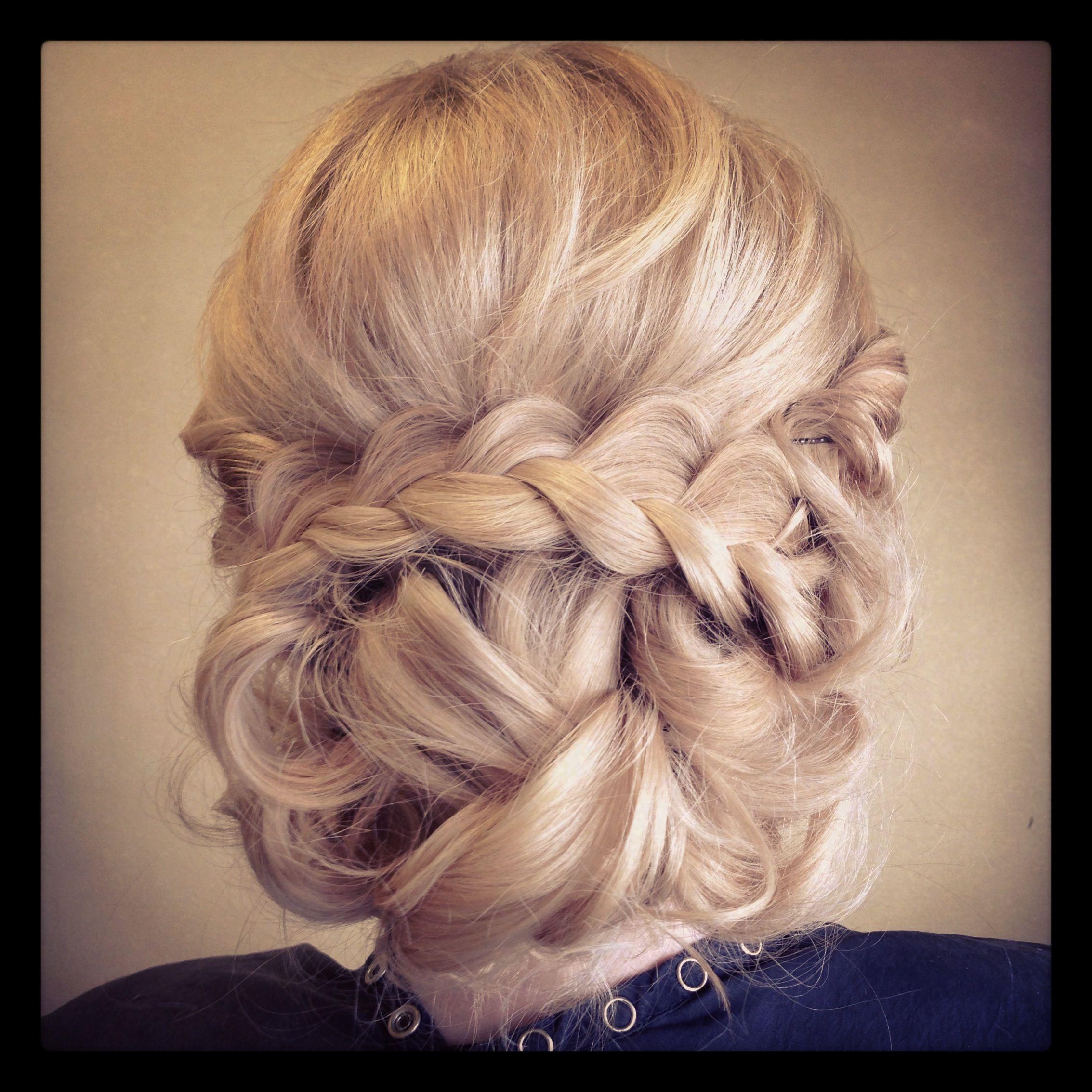 Crown Braid Wedding Hairstyles: Braided Hairstyles