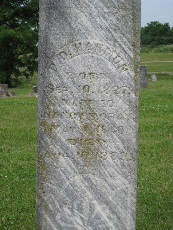 Peter D Harmon (1827 1889) Find a grave, Harmon, Grave
