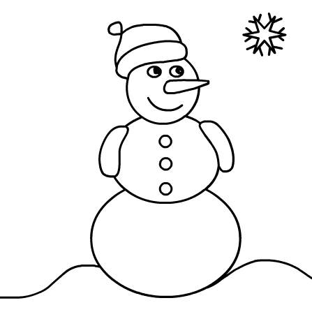 snowman coloring pages  printable coloring pages  snowman coloring pages printable coloring